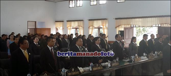 DPRD Kota Tomohon akhirnya memiliki Alat Kelengkapan Dewan (AKD).