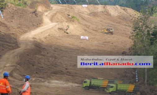 Pembangunan Jalan Tol Manado-Bitung Lambat, Oh.. Ternyata Ini Penyebabnya