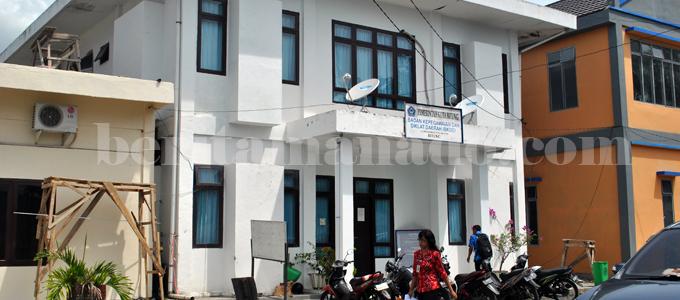 Kantor BKD-PP Kota Bitung (foto beritamanado)