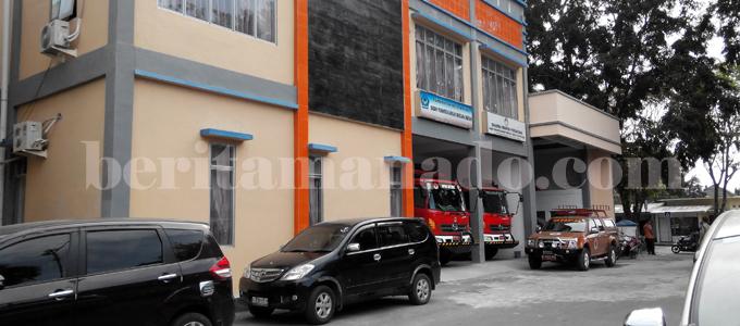 Kantor BPBD Kota Bitung (foto beritamanado)