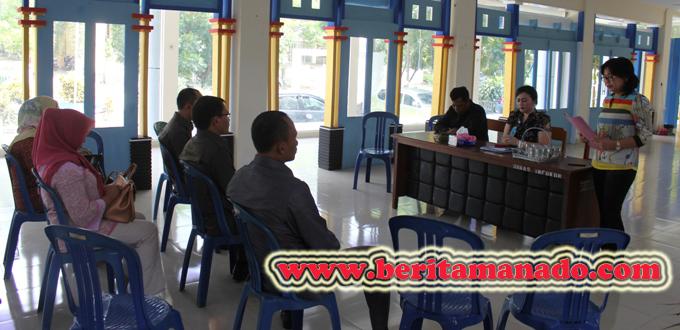 Kunjungan Kerja DPRD Bolmong di Disparbud Manado