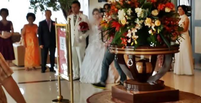 Wedding Reception di Lobby Lion Hotel