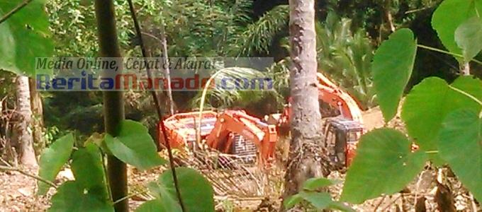 BMC lokasi pertambangan perusahaan Borneo Jaya Emas di Alason Ratatotok (2)