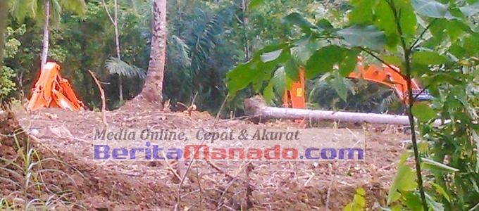 BMC lokasi pertambangan perusahaan Borneo Jaya Emas di Alason Ratatotok (5)