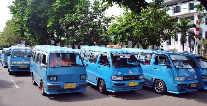 Angkot Bitung (foto beritamanado)