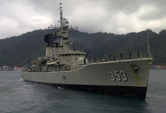 Salah satu armada milik Lanal Tahuna.