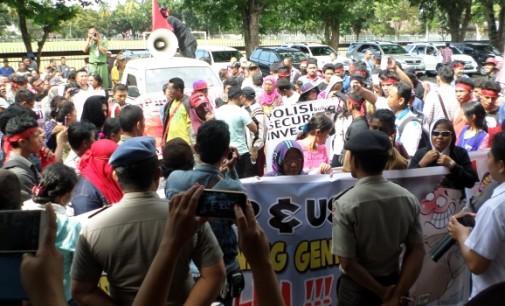 Demo Usut Tuntas Rekening Gendut POLRI