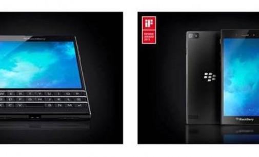 BlackBerry Passport dan BlackBerry Z3 Menangkan iF Design Awards