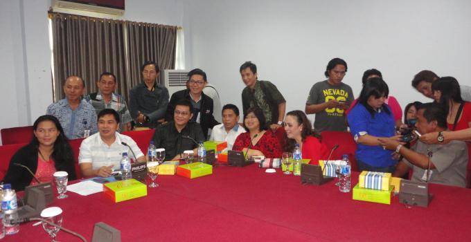 Komisi 4 DPRD Sulut bersama pekerja