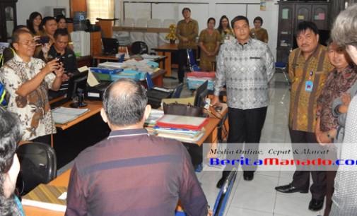 Ombudsman Sidak Kantor Perijinan Kota Manado