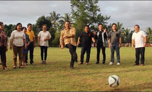 Karang Taruna Tinoor Gelar Kejuaraaan Sepakbola Piala Walikota Tomohon