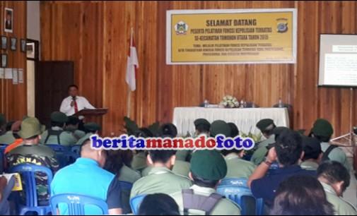 Polsek Tomohon Utara Sosialisasikan Fungsi Kepolisian Terbatas