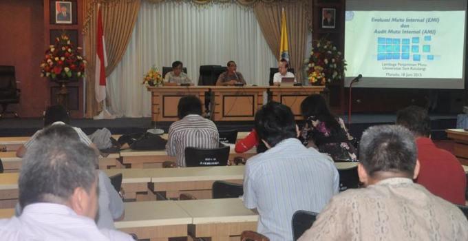 Wakil Rektor bidang Akademik Pimpin Rapat Unsrat
