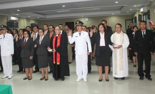 Dewo Pertanyakan Hasil Uji Kompetensi Pejabat di Minut