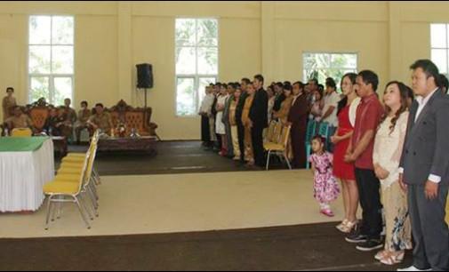 Walikota Jimmy Jadi Pencatat Perkawinan 35 Pasang Suami Istri