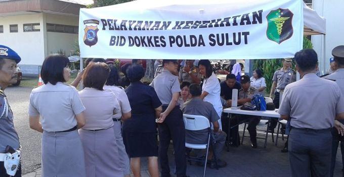 Pelayanan Kesehatan Polda Sulut