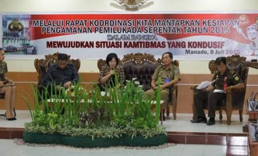 Polda Sulut Siap Amankan Pemilukada Serentak 2015