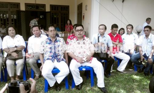 PILKADA BITUNG: Honandar-Kaloh Daftar ke KPU tanpa Bawa Pendukung