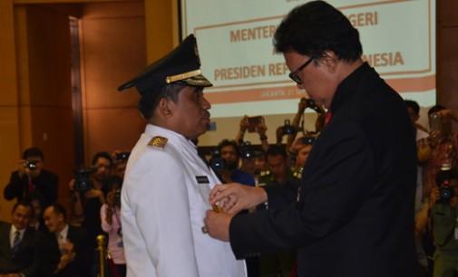 Mendagri RI Lantik Soni Sumarsono Penjabat Gubernur Sulut