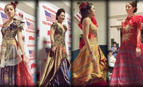 Peringati HUT Minahasa, Tou Minahasa USA Gelar Fashion Show
