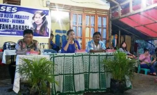 Legislator Dijana Pakasi Jemput Asirasi Warga di Karsel