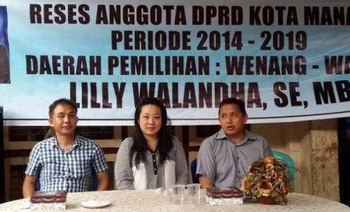 Legislator Lilly Walandha Pastikan Follow Up Aspirasi Warga Hasil Reses