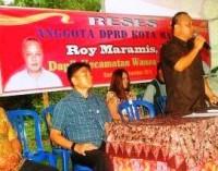 Roy Maramis Jemput Aspiraksi Warga Tanjung Batu