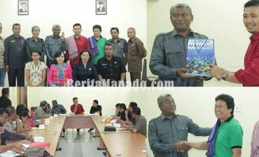 DPRD Manado Terima Kunjungan Wakil Rakyat Kaltim dan NTT