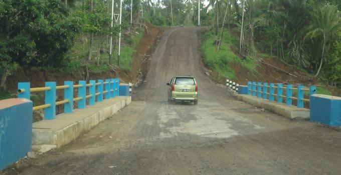 Jembatan di Tombulu