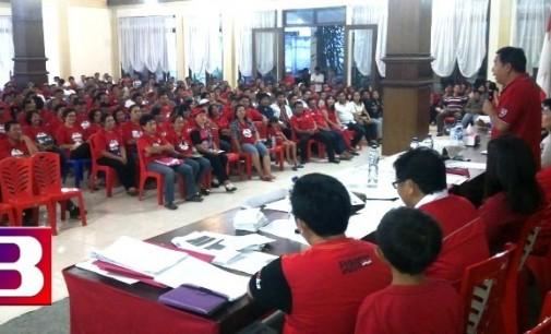 PDIP Mitra Lantih 700 Saksi Pilgub