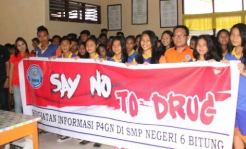 Sosialisasi BNN di SMP 6 Berhasil Tekan Pengguna Ehabond