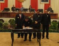 DPRD Sulut Paripurnakan Penetapan Pasangan Calon Gubernur dan Wakil Gubernur Terpilih
