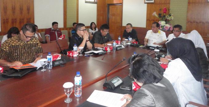 Rapat BanMus DPRD Sulut