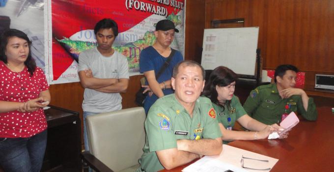 Sekretaris DPRD Sulut, A.B Mononutu