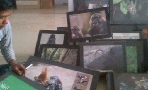 Kampanyekan Selamatkan Yaki, Pecinta Alam Bitung Gelar Pameran Foto