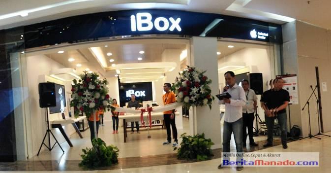 iBox Apple Authorised Reseller yang berlokasi di Manado Town Square 3 lantai dasar