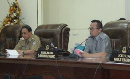 DPRD Manado Segera Bahas 5 Ranperda Inisiatif Eksekutif dan Legislatif