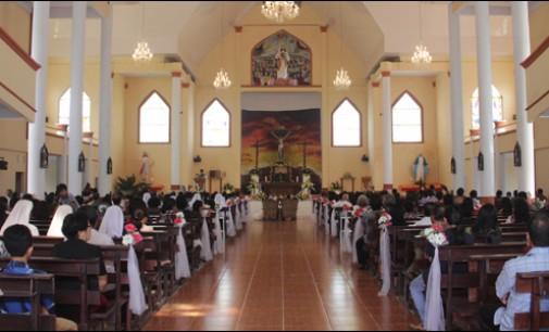 Penjabat Walikota Hadiri Ibadah di Gereja Katolik Kerahiman Ilahi