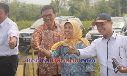Kunjungi Minahasa, Sujono Beri 'Jempol' Untuk PT. GMAL dan Petani