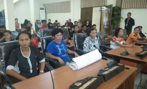 Kegiatan DPRD Manado Merima Aspirasi Warga di Bulan Februari
