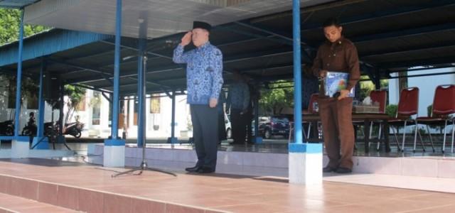 John Palandung pimpin apel Korpri dan peringatan Hari Sampah Nasional