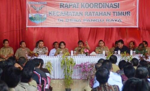 Ratahan Timur Terus Bersinergi Sukseskan Program Pembangunan Daerah