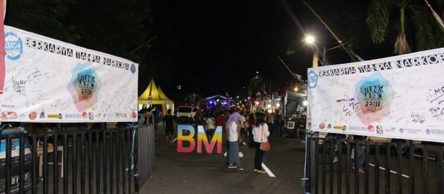 Kegiatan BNNBitung BMF 2016