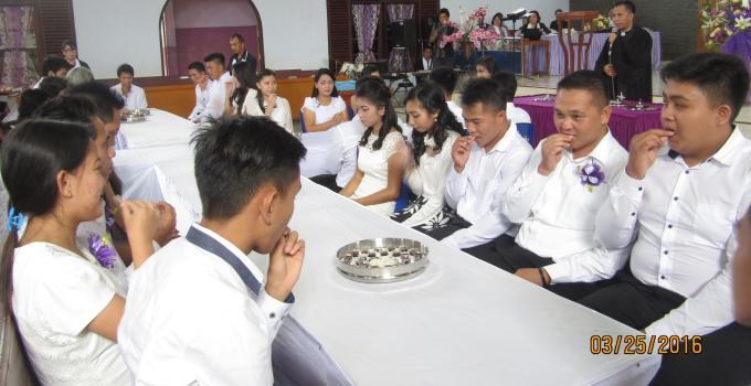 Jumat Agung perjamuan kudus