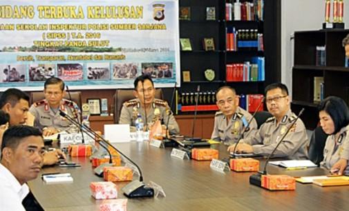 3 Calon Polisi Sumber Sarjana Jalani Tes Nasional