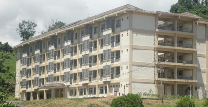 Rusunawa yang berhasil dibangun di Kota Bitung.