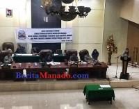 DPRD Manado Paripurnakan 5 Perda
