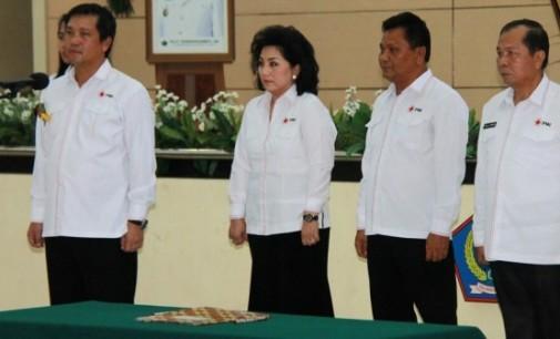 Max Lomban Dikukuhkan Jabat Dewan Kehormatan PMI Sulut