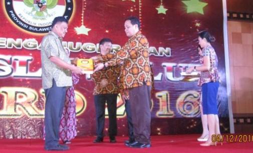 Bawaslu Sulut Award 2016: Ini Pesan Olly Dondokambey
