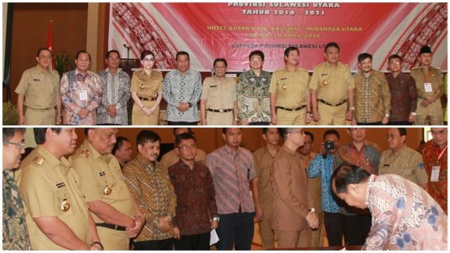 Walikota ketika menghadiri RPMJ Pemprov 2017